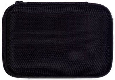 Rapter Hard Disk Pouch Cover 2.5 inch Zipper Case(For USB External Portable Hard Drives, Black)