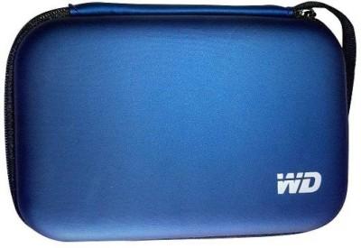 Pi World WD-Dark Blue 2.5 inch External Hard disk Case pouch Cover 2.5 inch External Hard disk Case(For Western Digital, Seagate, Dell, Toshiba, Trancend, Hitachi, Sony, Blue)