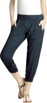Loco En Cabeza Solid Cotton Rayon Blend Women Harem Pants at flipkart