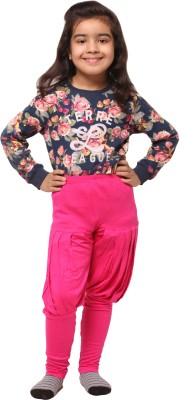 Vostro Moda Solid Polyester Women's Harem Pants