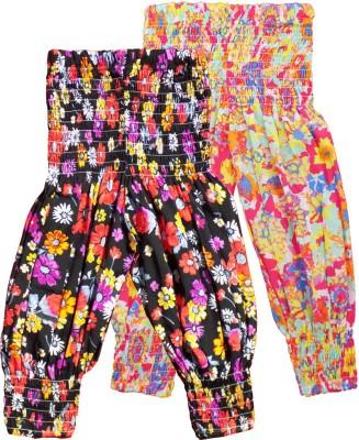 Fashionable Solid Cotton Girls Harem Pants at flipkart