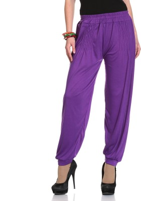 Kannan Solid Cotton Lycra Blend Women