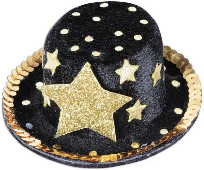 Planet Jashn Round Hat Clip(Black, Pack of 1)
