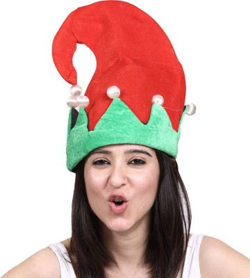 Madcaps The Party Shop Xmas Hat(Red, Green, Pack of 1)