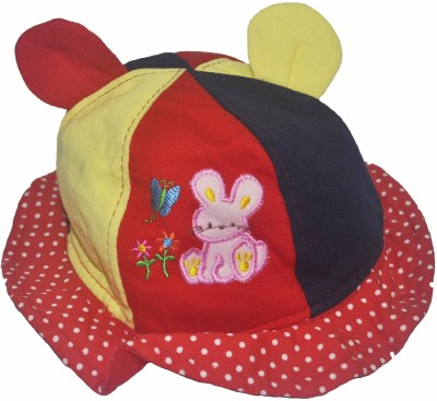 Babysid Collections Round Hat(Multicolor, Pack of 1)