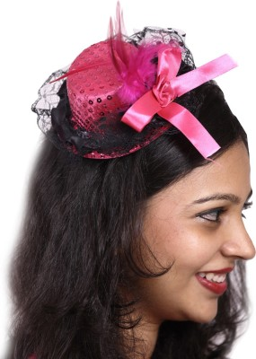 Madcaps The Party Shop Formal Hat(Pink, Pack of 1)