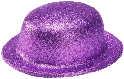PartyballoonsHK Round Party Hat(Purple, Pack of 1)