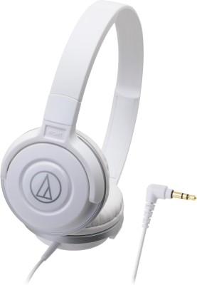 Audio Technica ATH-S100 WH Headphone(White, On the Ear) 1