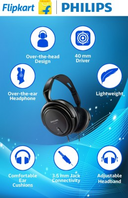 Philips SHP2000(Black, Over the Ear)