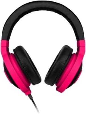 Razer RZ12-00870800-R3M1 Headphone(Neon Red, Over the Ear)