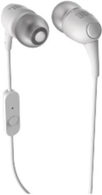 JBL T100A Headphone(White, In the Ear) 1