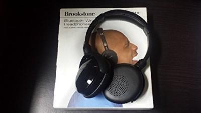 8cd81094cdd Buy Brookstone Bluetooth Wireless Headphones Headphone(Black) on Flipkart    PaisaWapas.com
