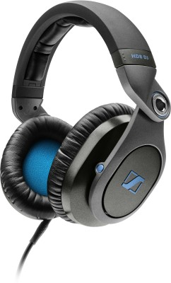 Sennheiser HD8 DJ Wired Headset without Mic(On the Ear)
