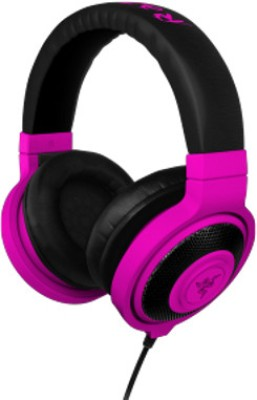 Razer Kraken Neon - Essential Music - FRML Headphone(Purple, Over the Ear)