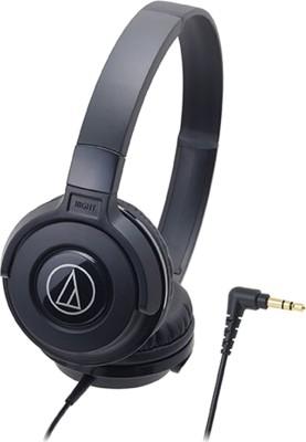Audio Technica ATH-S100 BK Headphones(Black, On the Ear)
