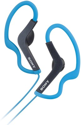 Sony MDR-AS200/LQ(IN) Wired Headphone(Blue, In the Ear) 1