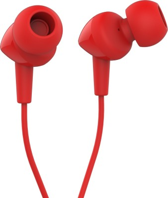 JBL C100Si Wired Headphone(Red, In the Ear)