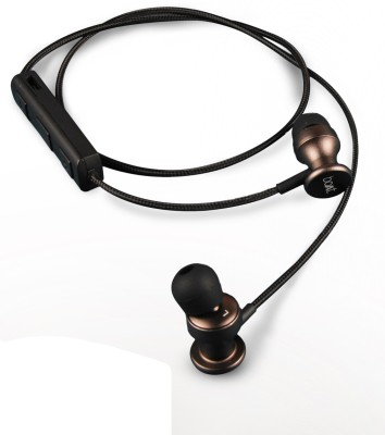 boAt Rockerz In Ear 200 Metallic Brown Earbuds Wireless bluetooth Headphones