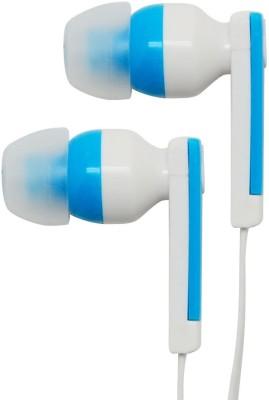 Portronics XO2 Headphone(White:Blue, In the Ear) 1