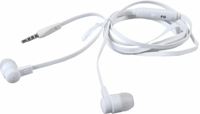 AutoKraftZ HFwht06 Headphone(White, In the Ear)
