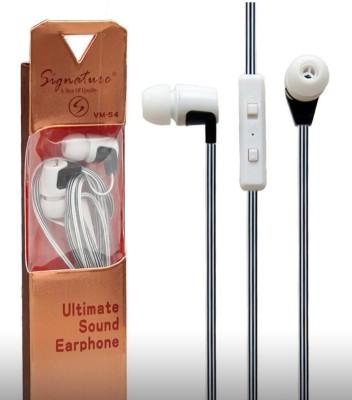 Signature VM-54 Headphone(White, In the Ear) 1