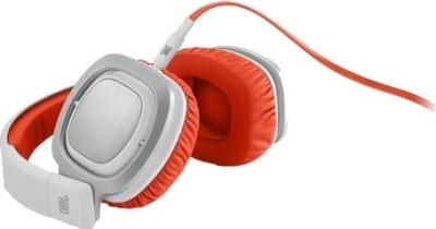 JBL J88 Headphone(White & Orange, Over the Ear) 1