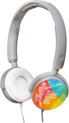 Cognetix ICC Cricket World Cup 2015 DIY Headphone(Grey, On the Ear) 1