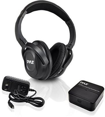 Buy Pyle Uhf 900Mhz Wireless Tv Ipod Headphones HeadphoneBlack On