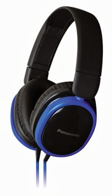 Panasonic RP-HX250ME Wired Headset with Mic(Blue, Over the Ear) 1