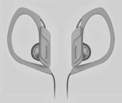 Panasonic RP-HS34E-W Wired Headset without Mic(White, Wired in the ear)