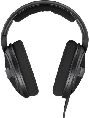 Sennheiser HD 569 Wired Headset without Mic(Black, On the Ear)