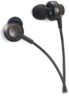Audio Technica CKM55 Headphone(Black, In the Ear)