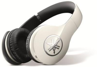 Yamaha Pro 400 High-Fidelity Over-Ear Headphones (Ivory ) Headphone(White)