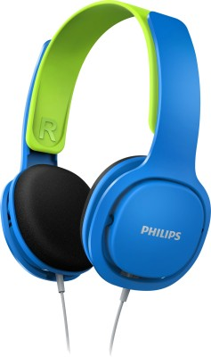 Philips SHK2000BL/00 Headphone(Blue & Green, On the Ear) 1