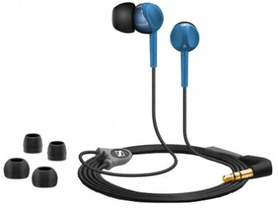 Sennheiser CX 215 Headphone(Blue, In the Ear) 1