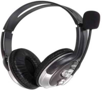 Intex USB Magna Headphone(Black, Over the Ear) 1