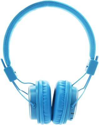 DigiFlip HP011 Headphone(Blue, On the Ear)