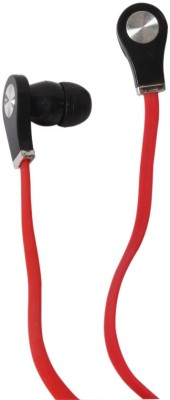 Callmate Classy Headphone(Red, In the Ear) 1