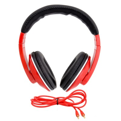 iNext IN 909 HP Red Headphone(Red, Over the Ear) 1