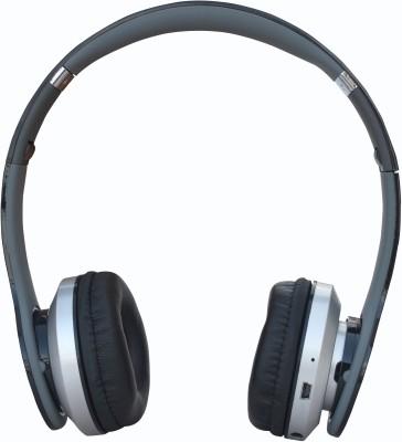 AAARAV ENTERPRISES 984 Bs19c Wireless Bluetooth Headset With Mic (Multicolor) Headphone(Black, Over the Ear)
