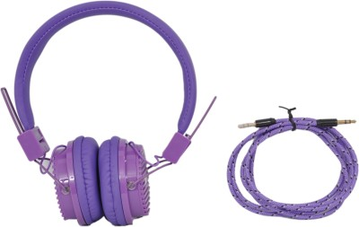 Inext IN-903hp Headphone(Purple, Over the Ear) 1