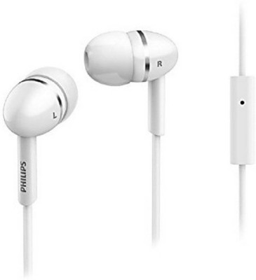 Philips SHE1455WT/94 Wired Headset without Mic(White, In the Ear)