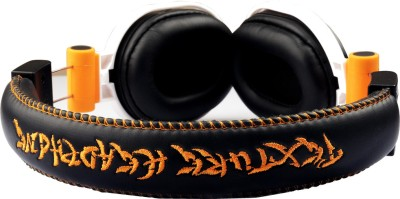 Smart Rockstar Headphone(Orange, Over the Ear) 1