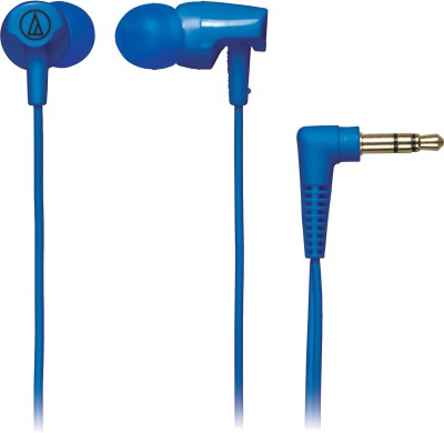 Audio Technica ATH-CLR100 Wired Headphone(Blue, In the Ear) 1