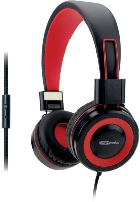Portronics Aural 202 Headphone(Red, On the Ear)