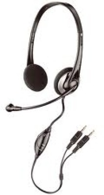 Plantronics Audio 326 Wired Headset with Mic(Black, On the Ear) 1
