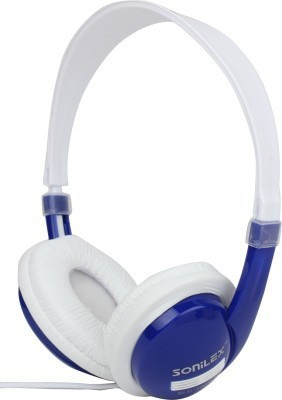 Sonilex SLG-1003HP Headphone(Blue, Over the Ear) 1