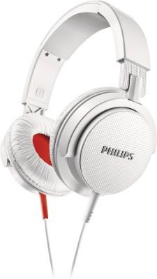 Philips SHL3105WT/00 Headphone(White, Over the Ear) 1