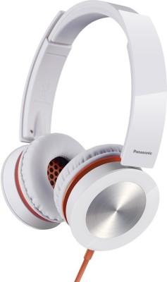 Panasonic RP-HXS400E Bluetooth Headset without Mic(White, Wireless over the head)