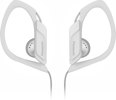 Panasonic RP-HS34ME-W Wired Headset without Mic(White, Wired in the ear)